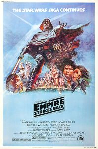 "USA Empire Strikes Back Style ""B"" 40 x 60"