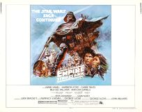 "USA Empire Strikes Back Style ""B"" Half-Sheet"