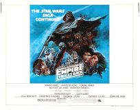"USA Empire Strikes Back Style ""B"" Dark Blue Half-Sheet"