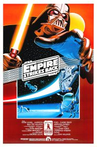 "United States Empire Strikes Back Style ""A"" 10th Anniversary Fan Club One-Sheet"