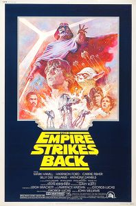 USA Empire Strikes Back '81 Re-release 40 x 60