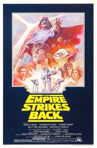 USA Empire Strikes Back '81 Re-release One-Sheet