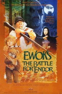 "USA Ewok Adventure Style ""A"" Battle for Endor Video Poster"