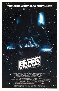 USA Empire Strikes Back Advance Teaser White Logo One-Sheet