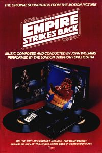 "United States Empire Strikes Back Style ""B"" Soundtrack Poster"