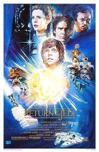 "Return of the Jedi Style ""A"" 10th Anniversary One-Sheet"