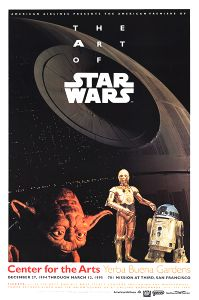 United States Star Wars Art of SW Poster