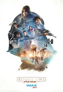 USA Rogue One AMC IMAX Theatres Exclusive 1 of 3 Poster