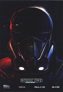 "USA Rogue One ""Deathtrooper"" Regal Exclusive Art Print Poster"