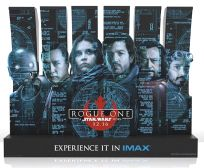 "USA Rogue One Version ""Schematics"" IMAX Standee"
