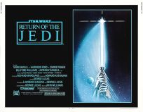 "USA Return of the Jedi Style ""A"" Half-Sheet"
