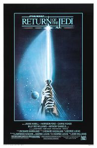 "USA Return of the Jedi Style ""A"" One-Sheet"