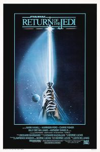 "USA Return of the Jedi Style ""A"" International One-Sheet"
