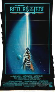 "USA Return of the Jedi Style ""A"" Standee Fins"