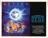 USA Return of the Jedi '85 Re-release Half-Sheet