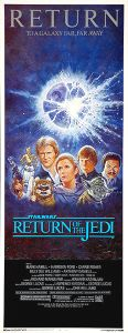 USA Return of the Jedi '85 Re-release Insert