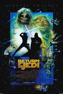 """USA Return of the Jedi Special Edition Version """"E"""" One-Sheet"""