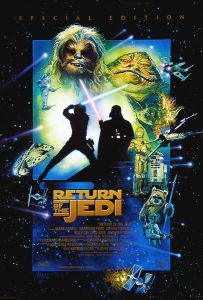 "USA Return of the Jedi Special Edition Version ""D"" International One-Sheet"