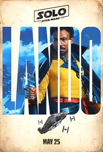 USA Solo Advance 2nd Version Lando One-Sheet