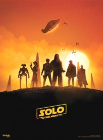 USA Solo AMC IMAX Theatres Exclusive 1 of 2 Poster
