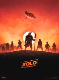 USA Solo AMC IMAX Theatres Exclusive 2 of 2 Poster