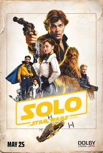 USA Solo AMC Dolby Exclusive One-Sheet