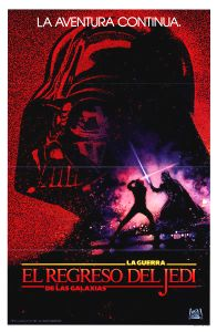 Mexican Return of the Jedi Advance One-Sheet