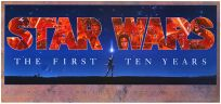 """USA Star Wars """"The First Ten Years"""" 10th Anniversary Poster"""