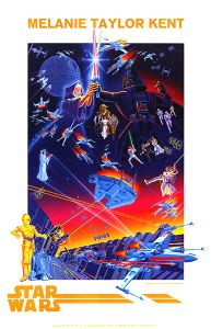 USA Star Wars 15th Anniversary Kent Poster