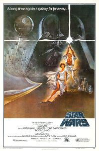 """USA Star Wars Style """"A"""" '82 Video One-Sheet"""