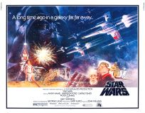 "USA Star Wars Style ""A"" Half-Sheet"