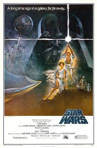 "USA Star Wars Style ""A"" One-Sheet"