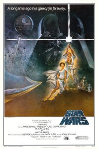 "USA Star Wars Style ""A"" International One-Sheet"