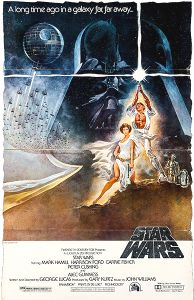 "USA Star Wars Style ""A"" '82 Video Standee"