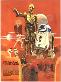 USA Star Wars Coca-Cola Promotional See-Threepio Poster #2