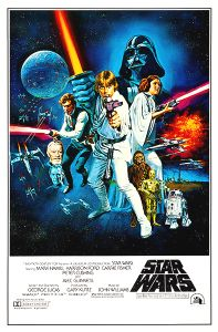 "USA Star Wars Style ""C"" One-Sheet"