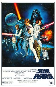 "USA Star Wars Style ""C"" International One-Sheet"