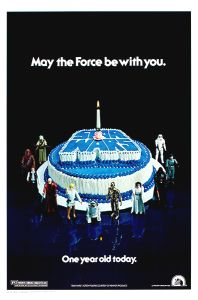 "USA Star Wars Style ""E"" Happy Birthday One-Sheet"