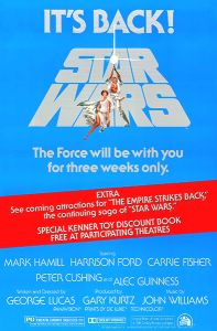 USA Star Wars '79 Re-release One-Sheet