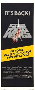USA Star Wars '81 Re-release Insert