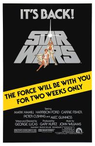 USA Star Wars '81 Re-release One-Sheet