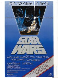 USA Star Wars '82 Re-release 30 x 40
