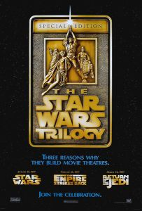 """USA Star Wars Special Edition Version """"F"""" Advance One-Sheet"""