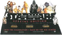 USA Star Wars Special Edition Advance Lobby Display Standee