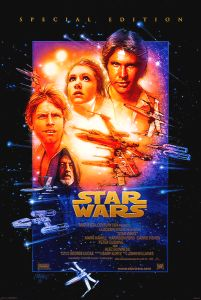 "USA Star Wars Special Edition Version ""B"" International One-Sheet"