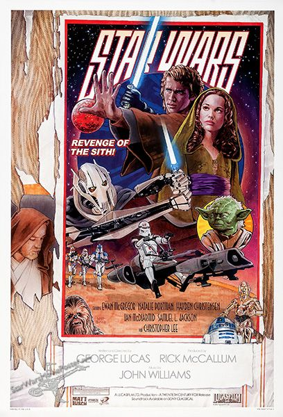United States Revenge Of The Sith Style D Sith Circus Fan Club One Sheet Starwarsmovieposter Com